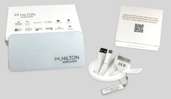 B2B-Kampagne für Hilton