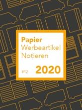 Papier Werbeartikel Notieren 2020