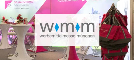 CD Werbemittel auf der WMM 2020