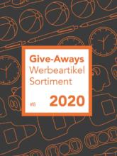Give-Aways Werbeartikel Sortiment 2020
